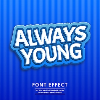 3d logo game or label tittle text effect