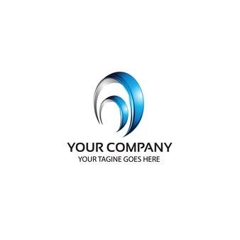 3d - logo template