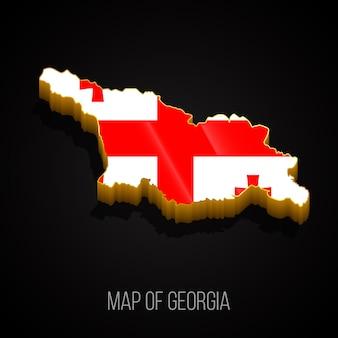 3d карта грузии