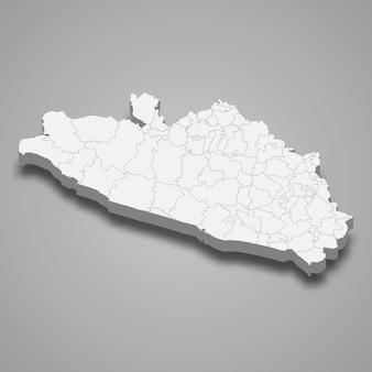 3d карта штата герреро в мексике
