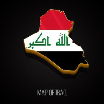 イラクの3dマップ