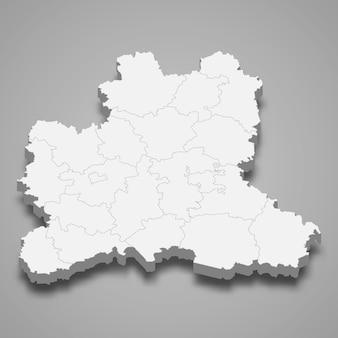 3d карта региона россии