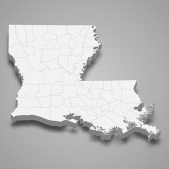 3d карта штата сша