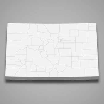 3d map state of united states