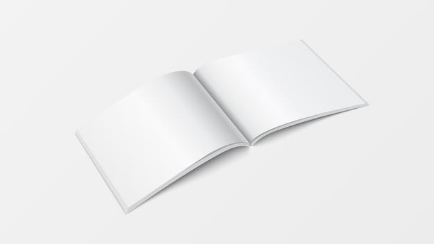 3d 이랑 펼친 책 템플릿