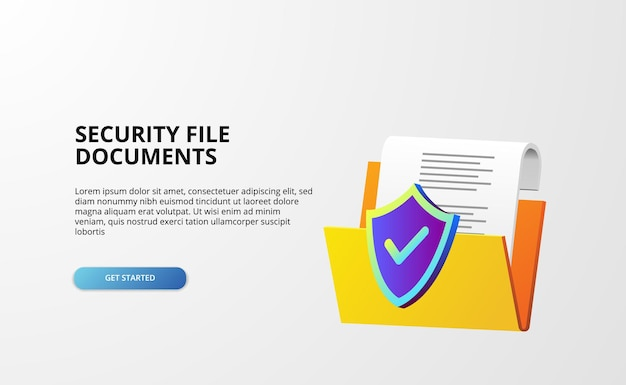 3dオープンフォルダには、ファイルドキュメントwebバナーディレクトリ企業管理が含まれています