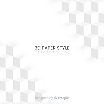 3d paper effect background