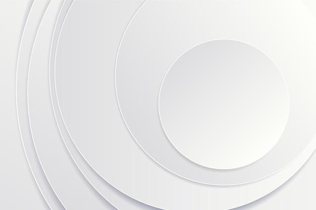3d paper style circular background