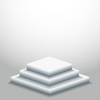 3d表彰台の背景