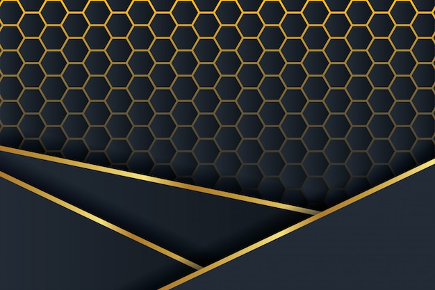 3d polygon background.