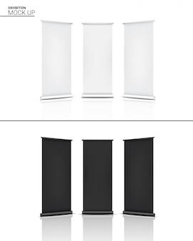 3d-макет реалистичной экспозиции стенда pop booth