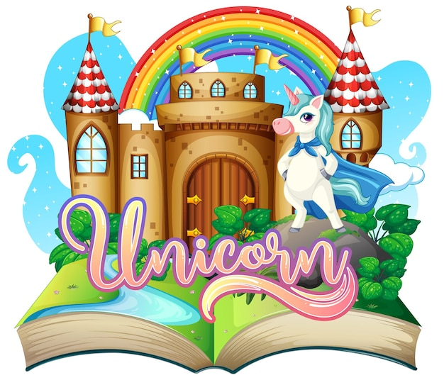 3d pop up book with fairy tale theme