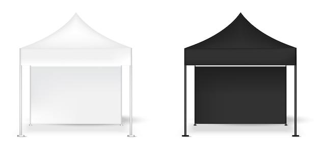 3dモックアップリアルテントディスプレイ壁popブース展