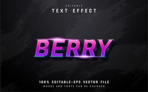 3d purple gradient text effect