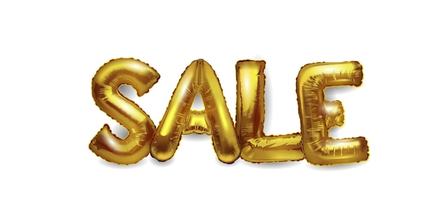 3d realistic helium balloons in the form of letters sale.