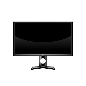 3d realistic monitor