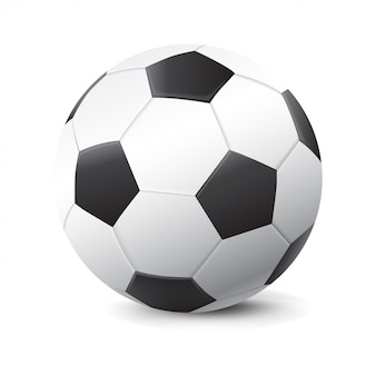 3d realistic soccer ball