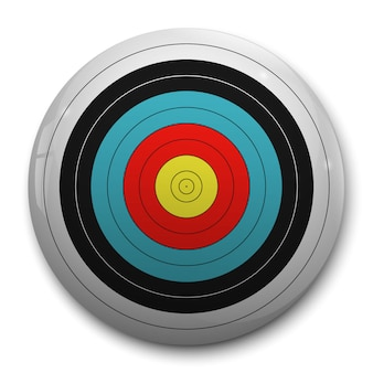 3d realistic target for archery target