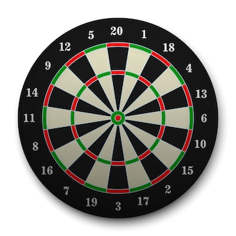 3d realistic target for darts.