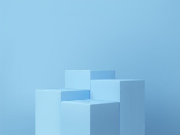 3d-рендеринг подиума для демонстрации вашей продукции