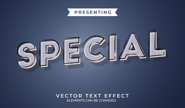 3d retro editable text effect with grunge texture