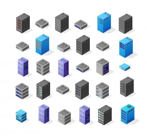 3d set server network
