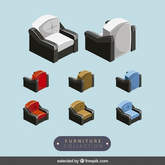 3d sofas collection