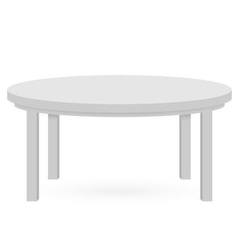 3d table mockup. template for object presentation..