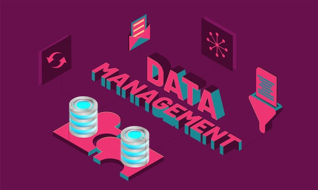 3d text data management with multiple business equipments.