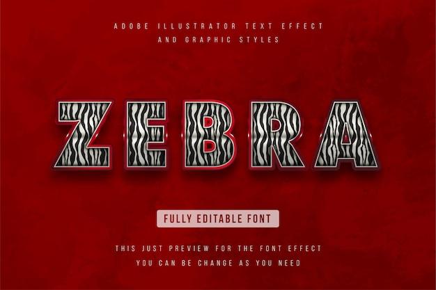 3d text effect, editable text
