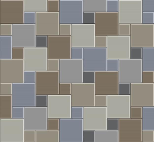3d tile stone background floor, exterior design