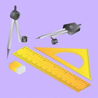 수학의 3d 도구.