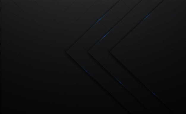 3d вектор черный и линия квадратный фон