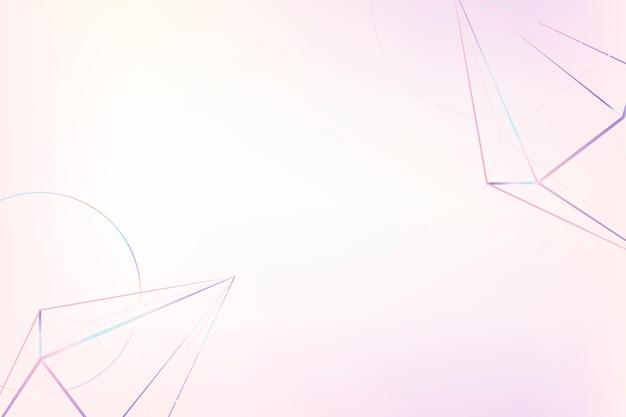 3dウェーブパープルパターンデザイン