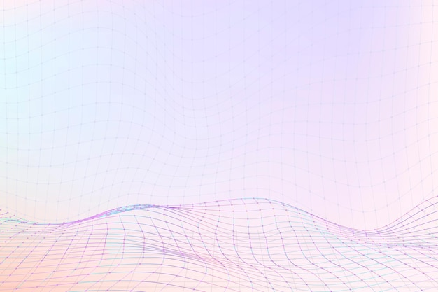 3d wave purple pattern design