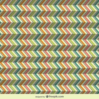 3d zig zag retro pattern