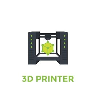 Иллюстрация 3d принтера
