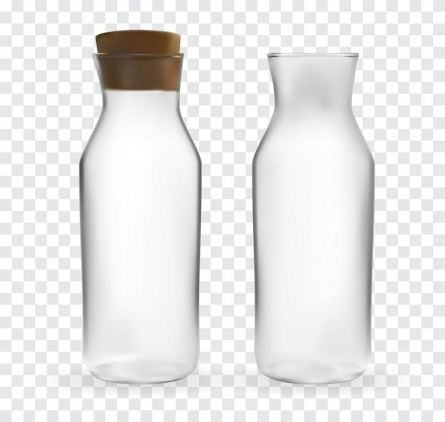 透明の魔法瓶カップのリアルな3dモデル