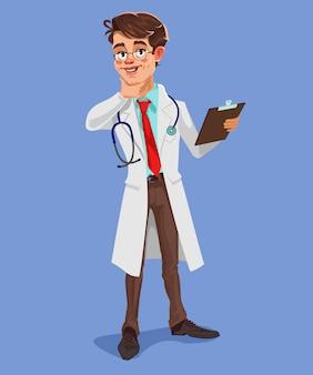 Вектор 3d доктор