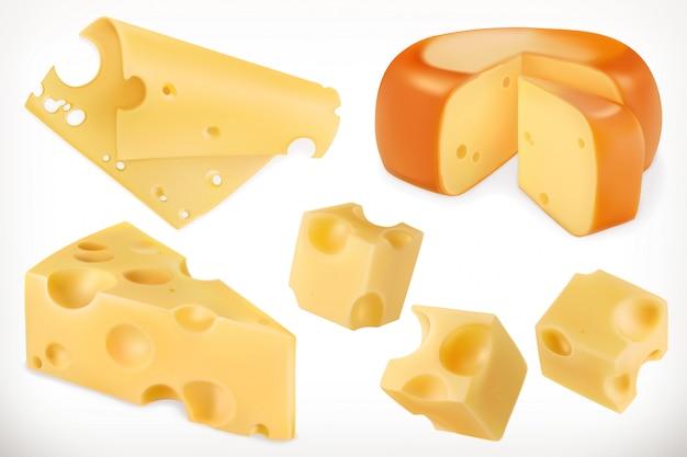 チーズ。 3dセット