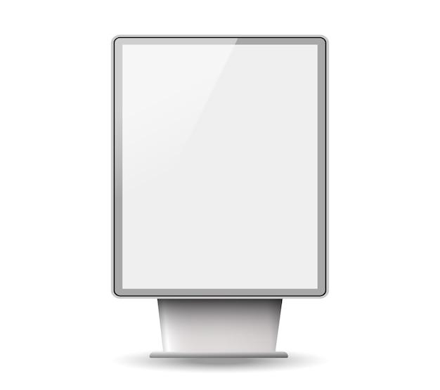 Уличный 3d рекламный щит