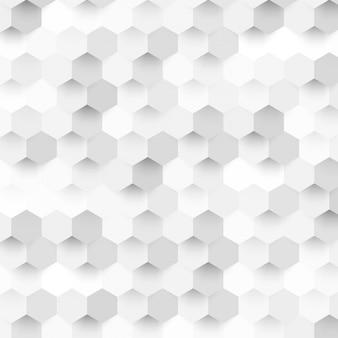 Вектор абстрактного цвета 3d гексагональной.