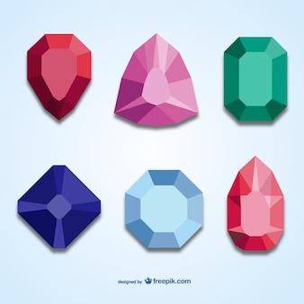 3dの宝石パック