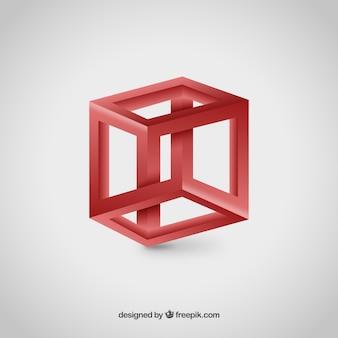 3dキューブのロゴ
