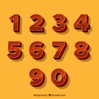 3d番号コレクション