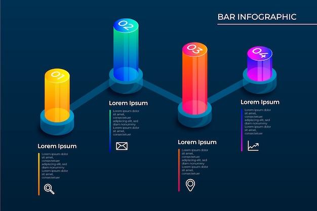 3d бары инфографики