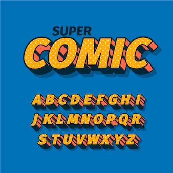 3d тема комического алфавита