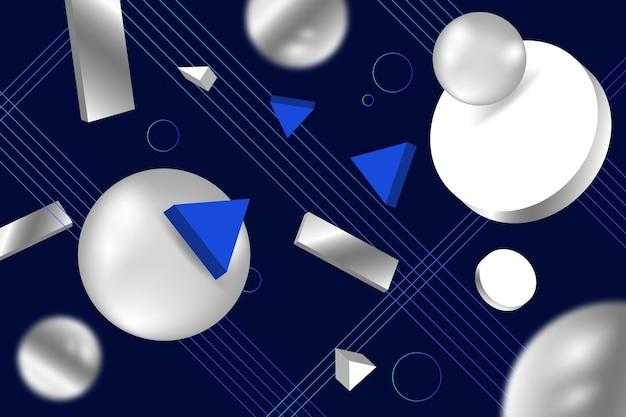 3d фон формы