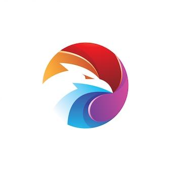 Красочный 3d орел
