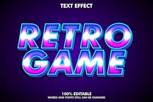 Современный стиль ретро текста, сильный эффект жирного шрифта 3d